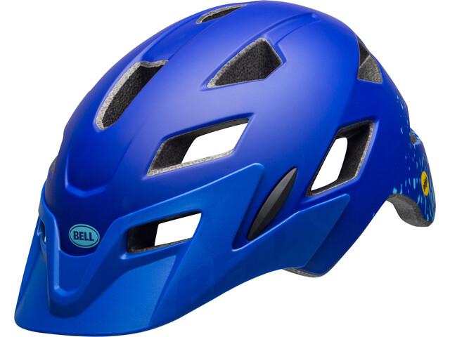 Bell Sidetrack Y MIPS Cykelhjälm Barn blå